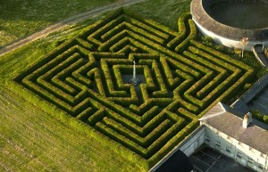 Gartenlabyrinth