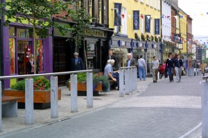Hauptstrasse in Carlow