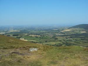Panorama von Mount Leinster