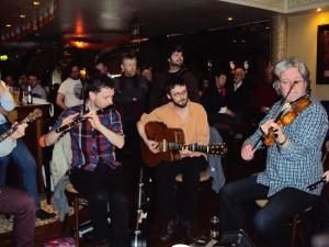 Irische Musikgruppe