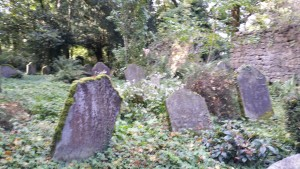 Friedhof in Shankill Castle
