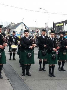 Pipe Band in Carlow