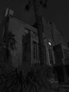 Huntington Castle bei Nacht