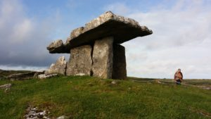 Dolmen in the Burren