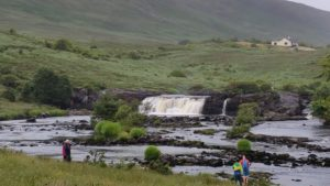 Wasserfall in Connemara