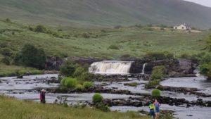 Wasserfall in Connemara