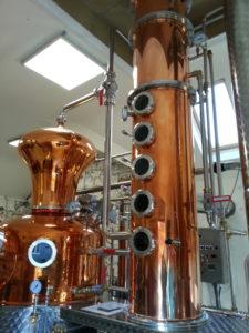 Destillerie in HIghbank Orchards