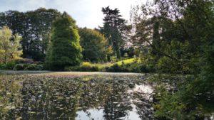 Panoramasicht in Altamont Garden